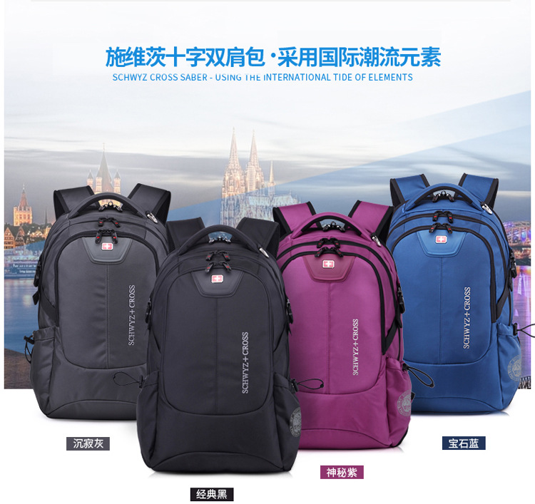 1346dd07bf Premium Swiss Gear Design SCH5001 High School   College Student ...